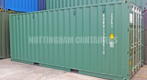 20ft Shipping Containers East Midlands | New and Used