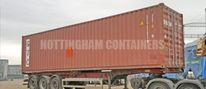 High Cube Specialised Container Nottingham