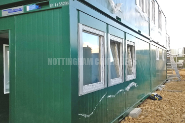 Flat Pack Container Accommodation