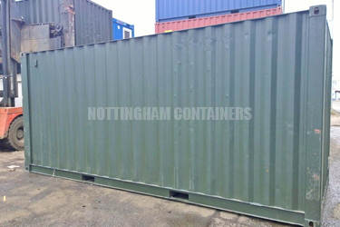 Sports Charity Storage Container & Sports Charity Storage Container | Nottingham Containers